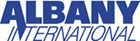Blue Albany International Logo