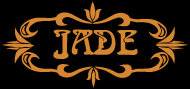 Black and gold Jade logo